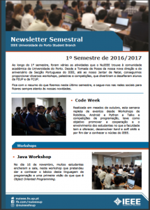 IEEE UP Student Branch Newsletter_1_2016_2017